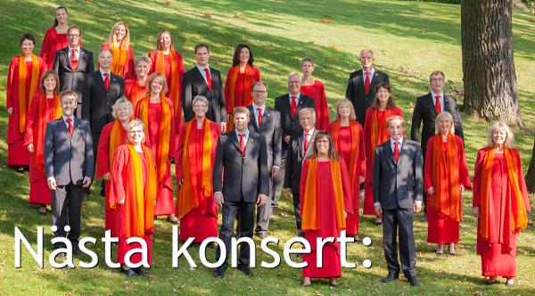 Västerås kammarkörs nästa konsert